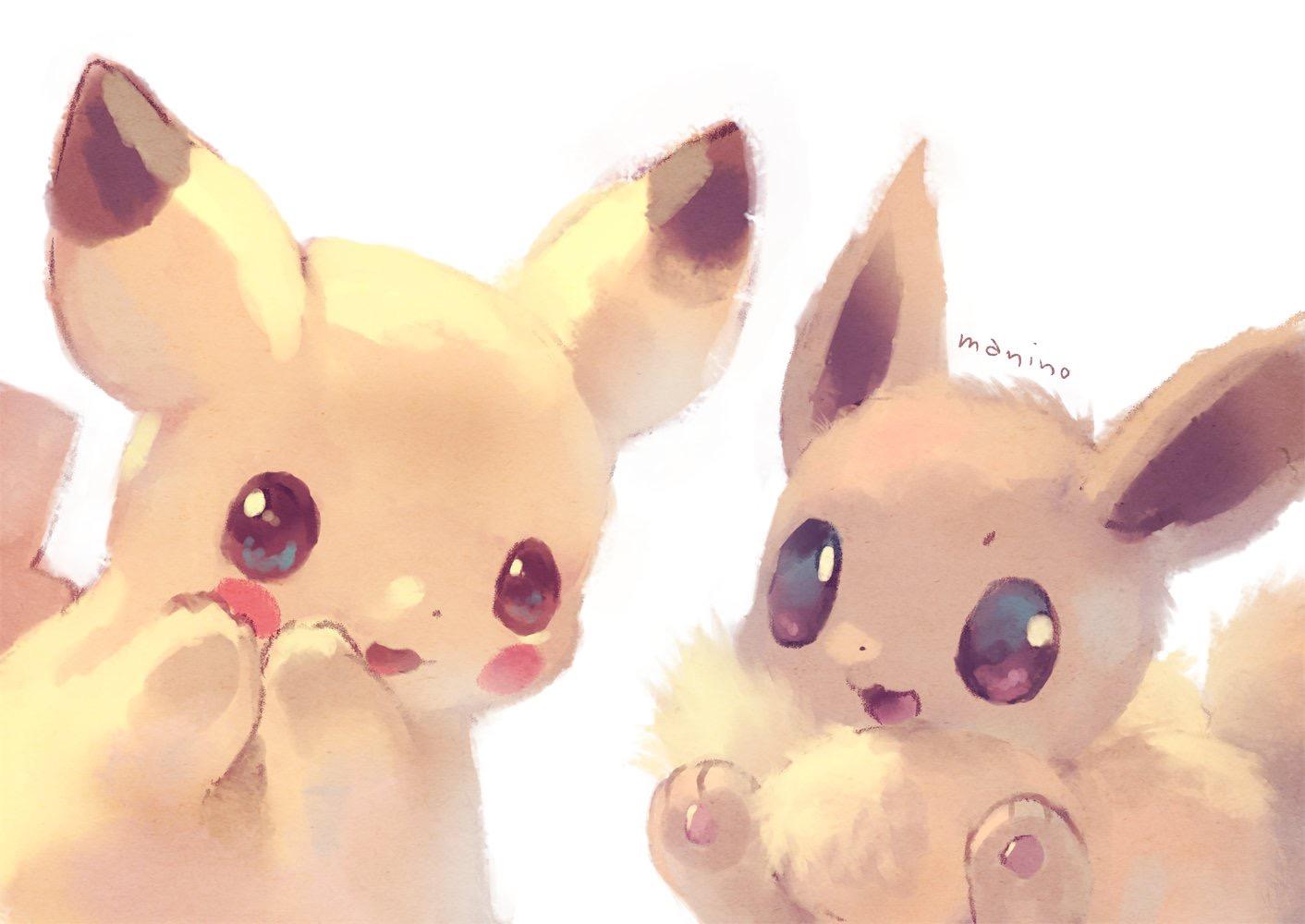 Cute Pokemon Eevee Wallpaper Pok 233 Mon Let S Go Pikachu Amp Let S Go Eevee Zerochan