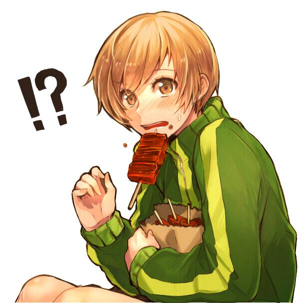 Persona 4 Cute Chie Wallpaper Satonaka Chie Shin Megami Tensei Persona 4 Image