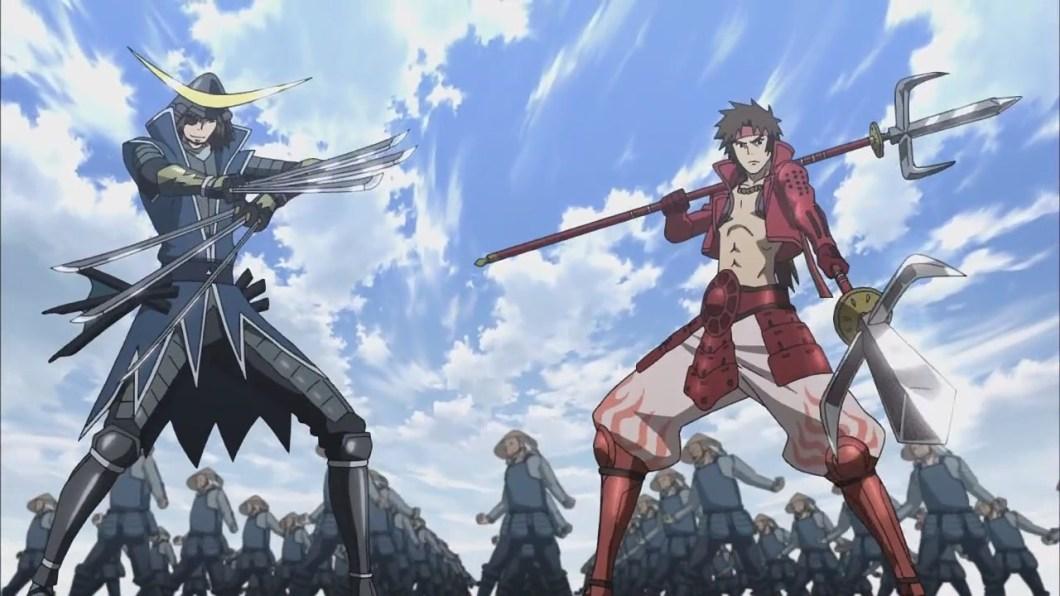 Sengoku Basara Anime Jepang