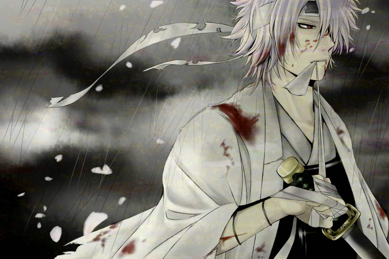 Download Sad Emo Girl Wallpaper Shiroyasha Sakata Gintoki Zerochan Anime Image Board