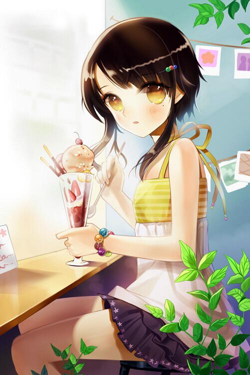 Anime Wallpaper Girls Hair Short Black Eyes Brown Sita Vilosa Sword Girls Zerochan Anime Image Board