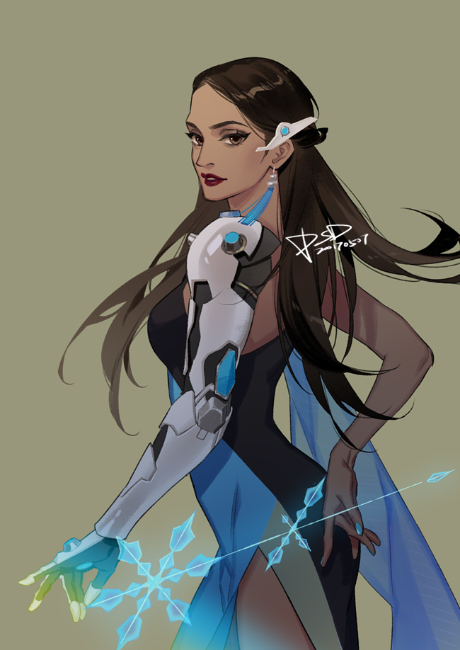 Girl Pages Of Wallpaper Symmetra Overwatch Zerochan Anime Image Board