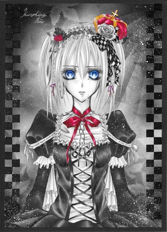 Beautiful Girl Vampires Wallpaper Touya Rima Mobile Wallpaper Zerochan