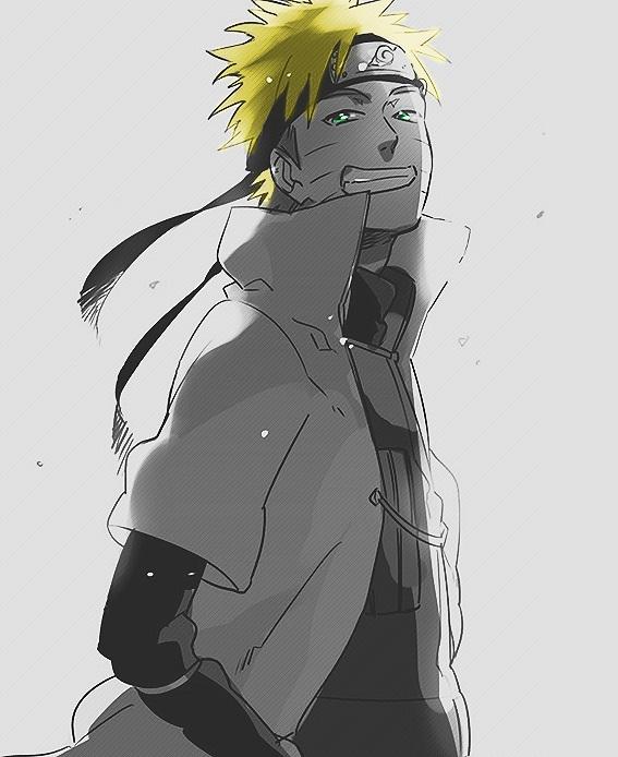 Naruto Uzumaki Smiling