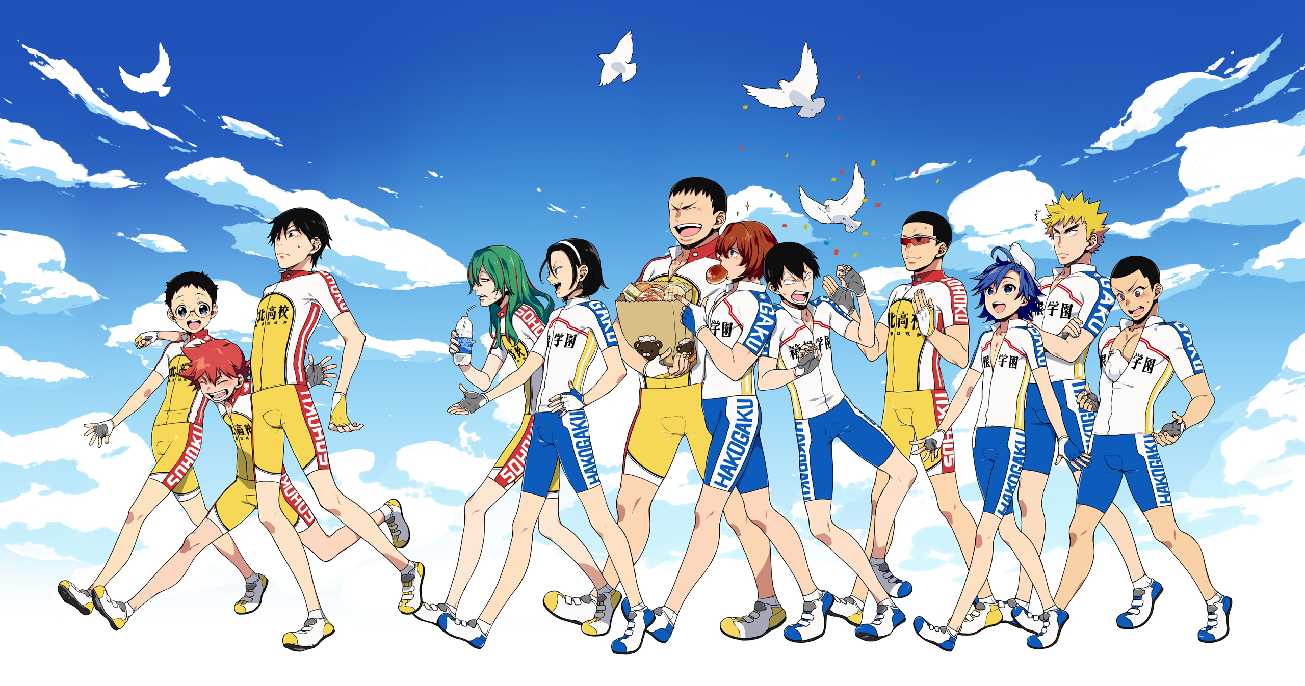 Image result for Yowamushi Pedal