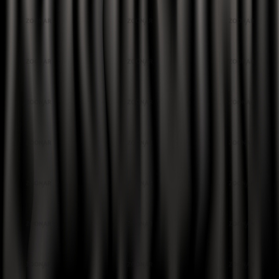 Photo Black Silk Curtains Image #2341299