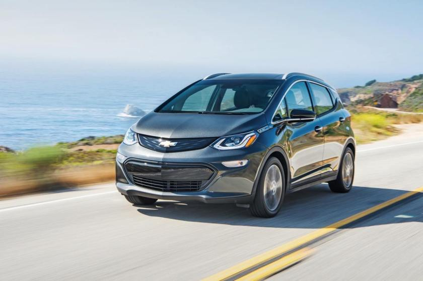 chevrolet bolt cinza