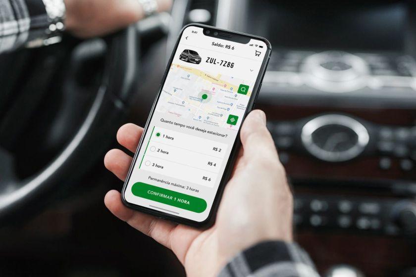 aplicativo Zul estar curitiba como ativar estacionamento rotativo