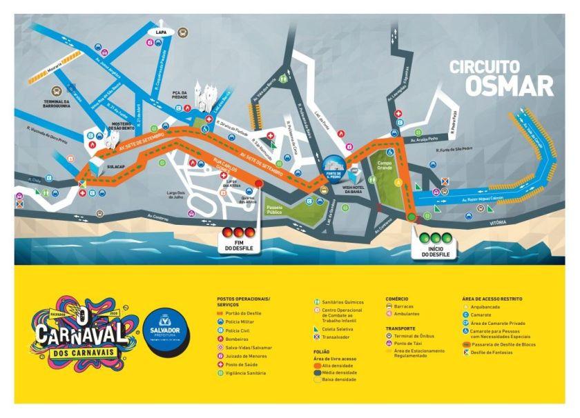 guia do foliao circuito osmar salvador carnaval 2020