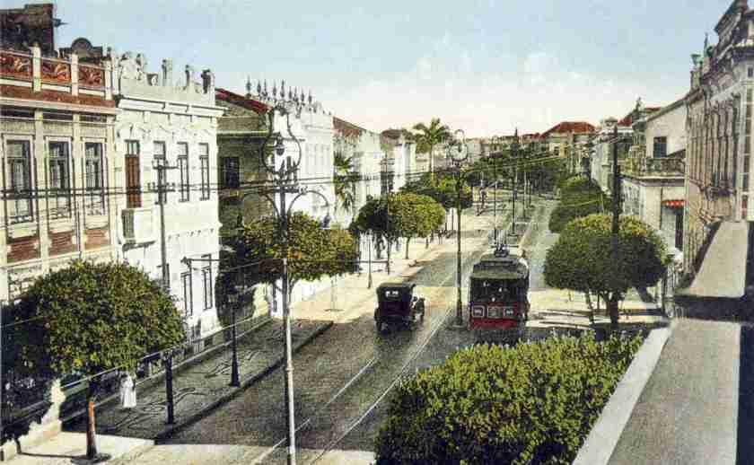 Corredor da Vitória em 1925 Salvador Bahia