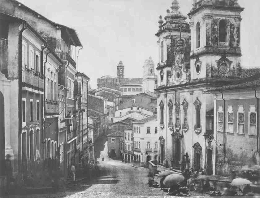 Pelourinho Salvador Centro Histórico 1859