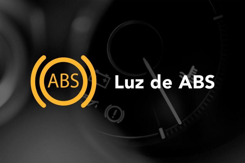 Luz de freio ABS painel do carro