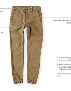Boy   pants size chart how to measure also zumiez rh