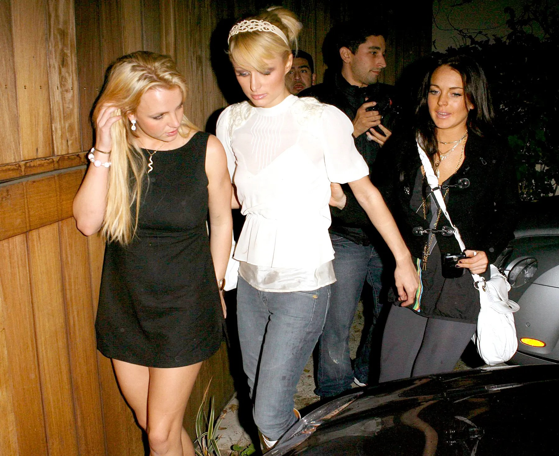 Britney Leads 4 Paparazzi To The Big House, The Slammer, The Clink new images