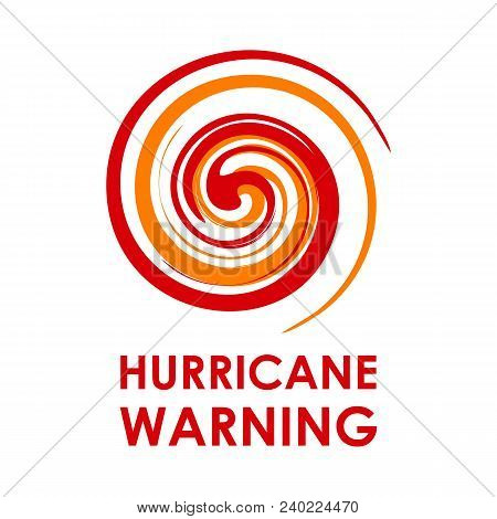 hurricane indication graphic banner