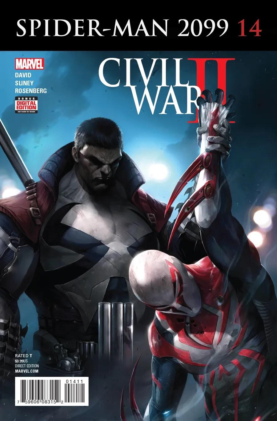 Spider-Man 2099 #14   CBR