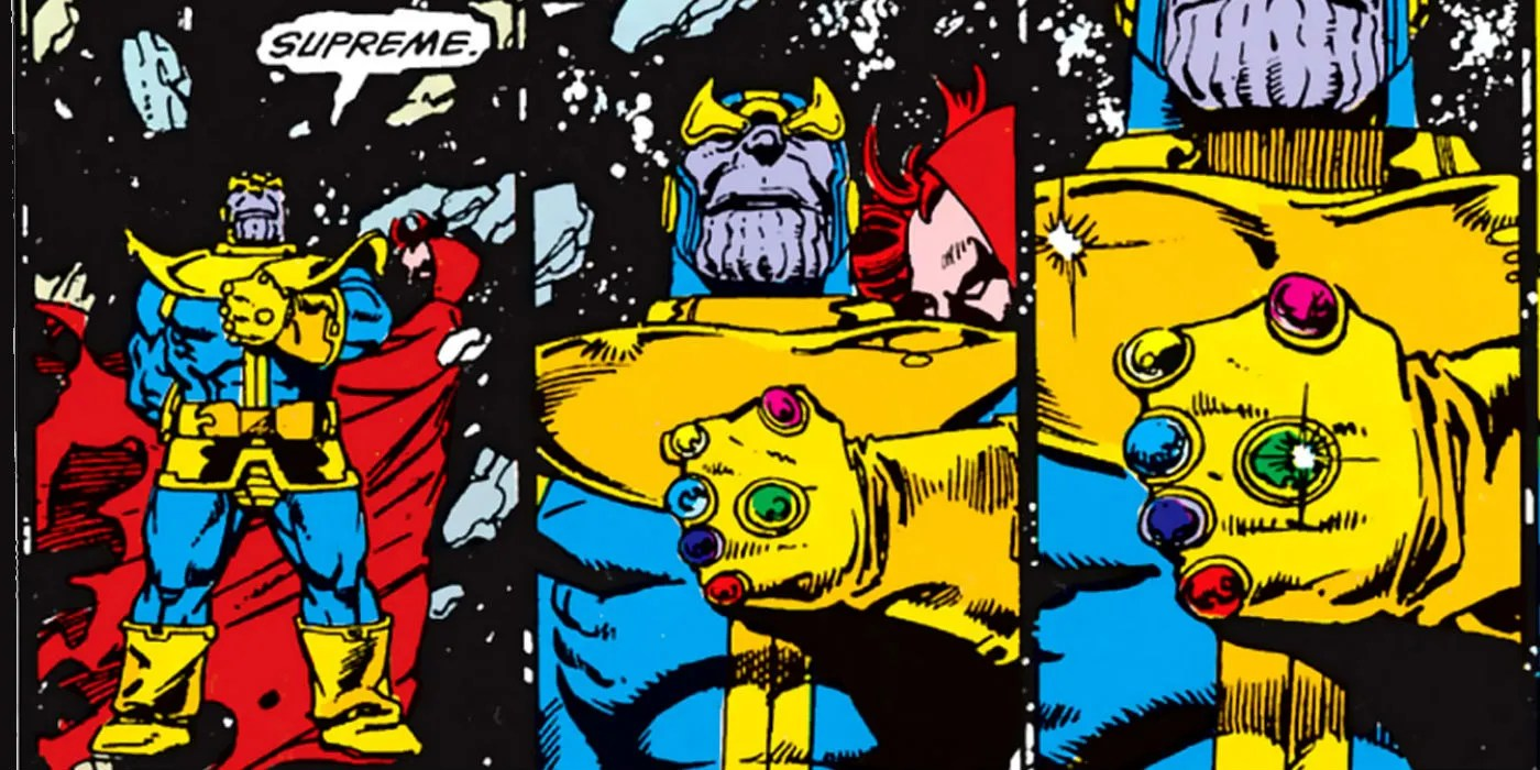 The Infinity Gauntlet 15 Things You Never Knew  CBR