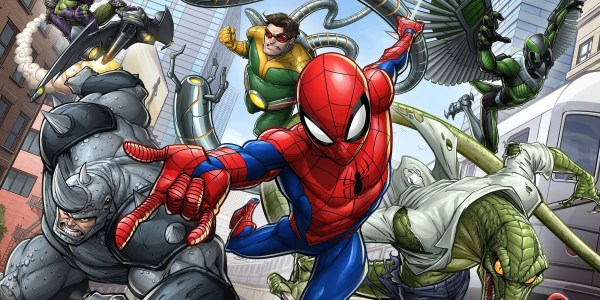 Spider-man Animated Series Promo Art Teases Rogues Cbr