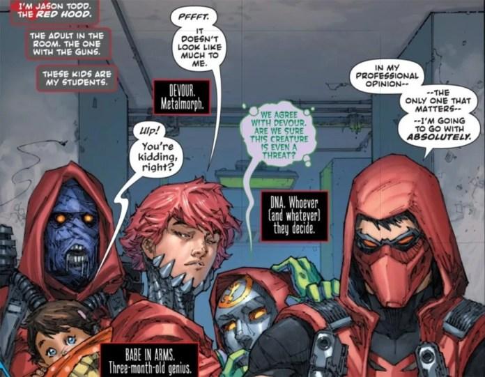 Jason Todd Red Hood Titans DC Comics