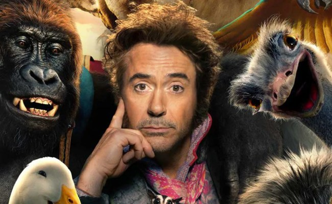 Robert Downey Jr S Doctor Dolittle Movie Debuts First Poster