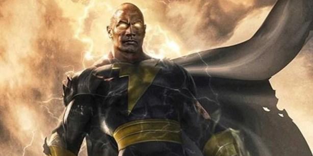 Black Adam: Dwayne Johnson Teases Film's Logo, Concept Art Ahead ...