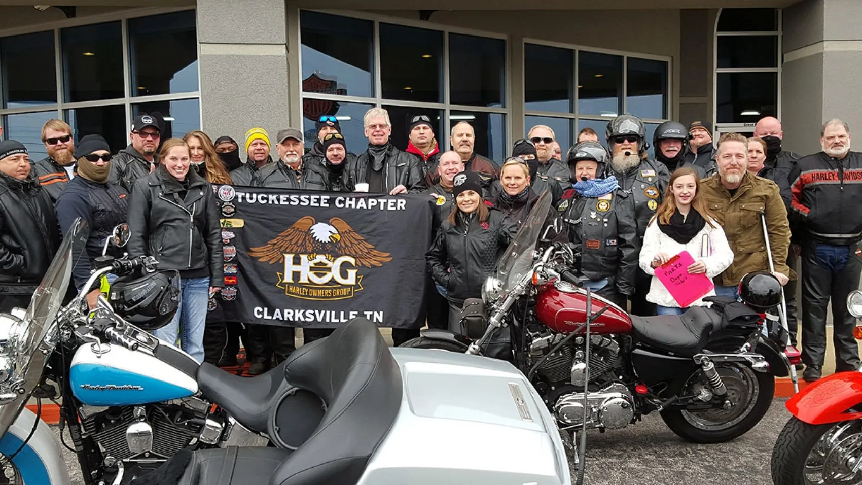 Tuckesee Chapter Of The Harley Owners Group