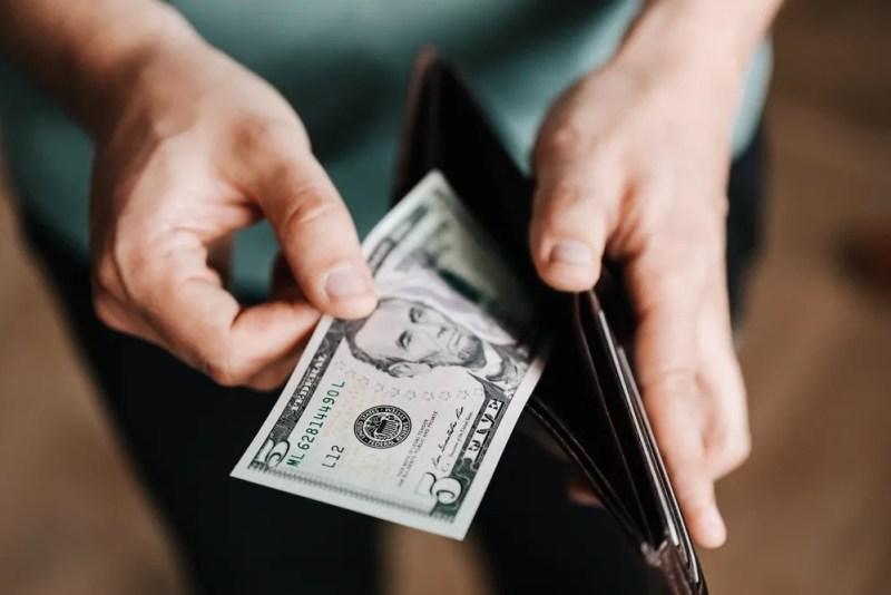 Payer en argent comptant