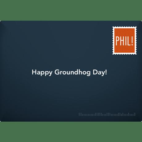 Groundhog Birthday Official Groundhog Day ECard Free