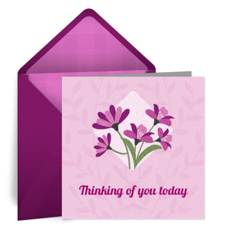 Diamond Flower Free Mothers Day ECard Mother's Day Card