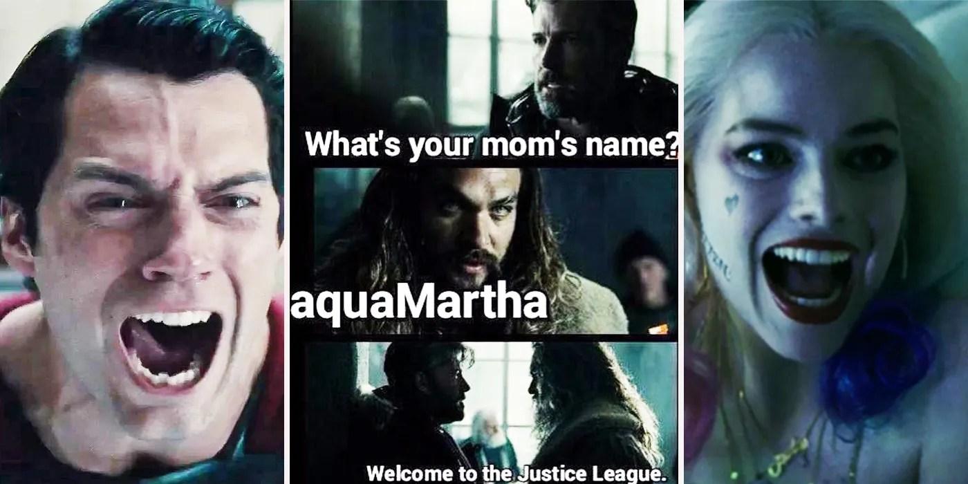 funny dc movie memes