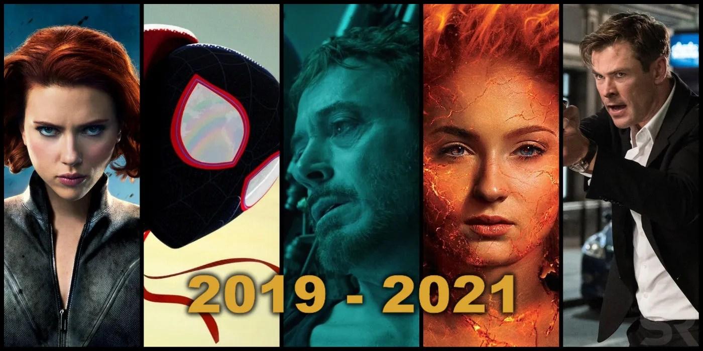 Every Upcoming Marvel Movie 2019  2023  Screen Rant