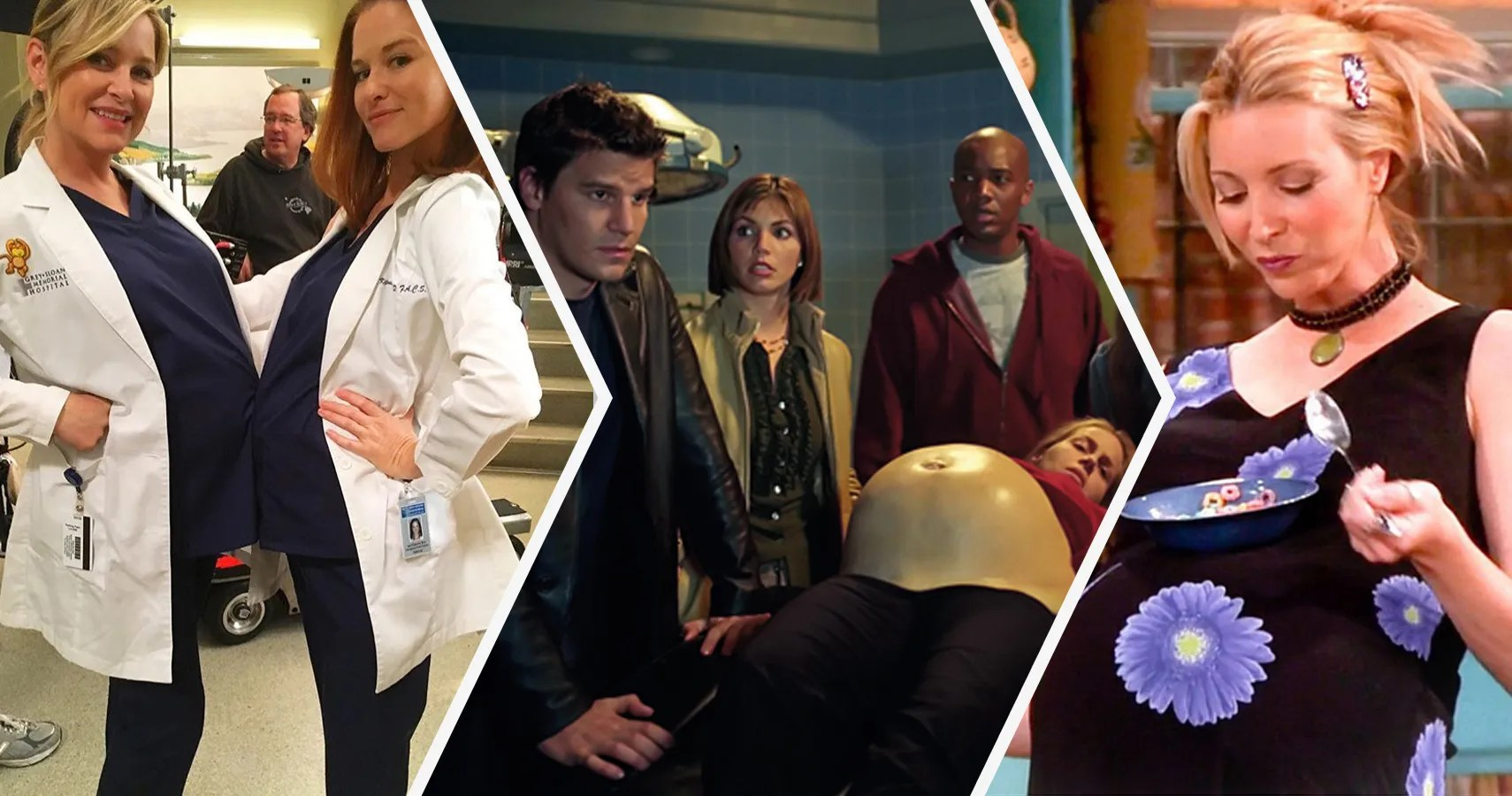 15 Awkward Ways TV Shows Hid Actors Pregnancies  ScreenRant
