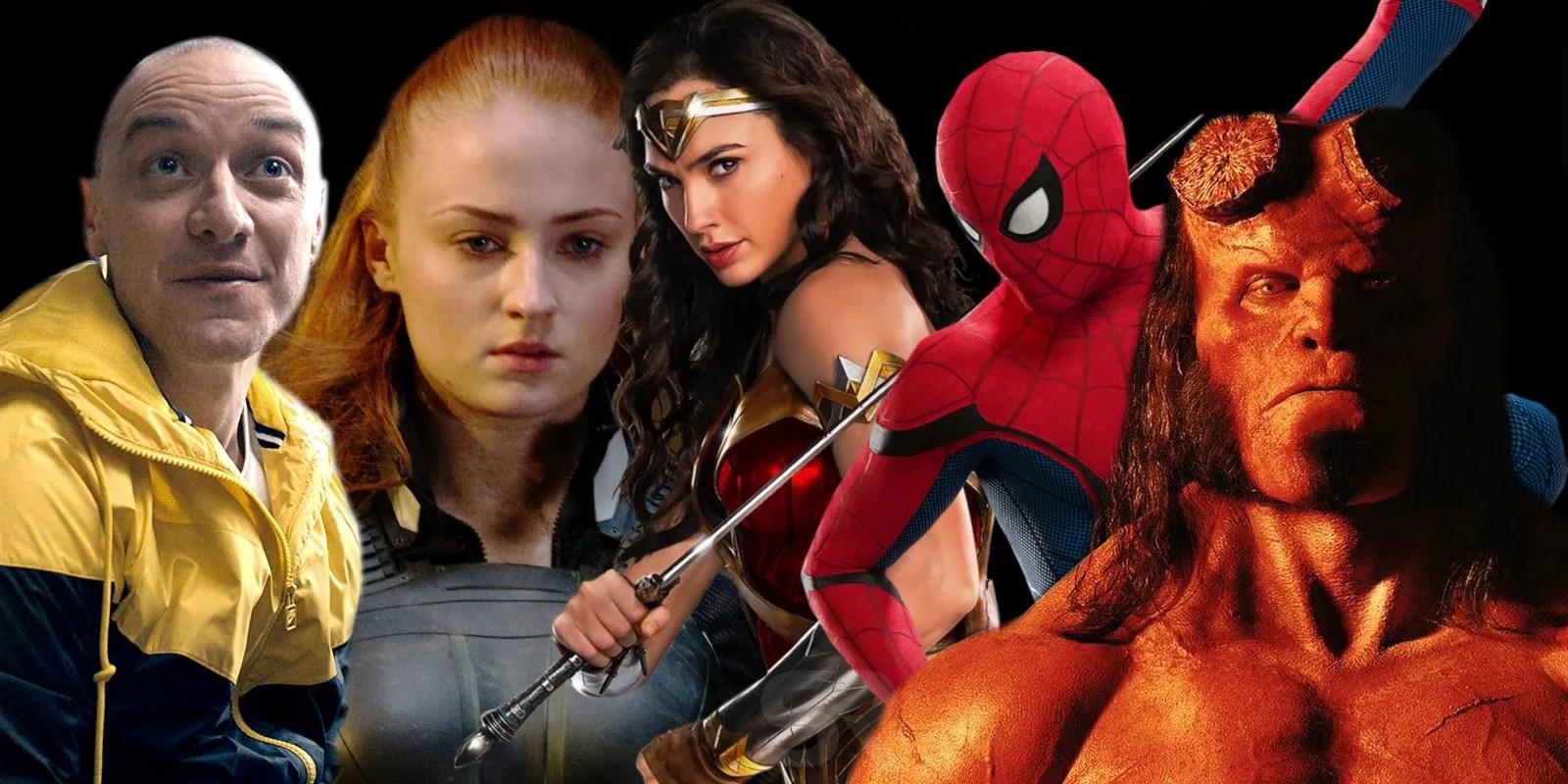 2019 Has The Most Superhero Movies Ever  ScreenRant