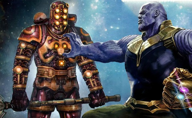 Thanos Origin Book May Tease Avengers 4 S New Villains