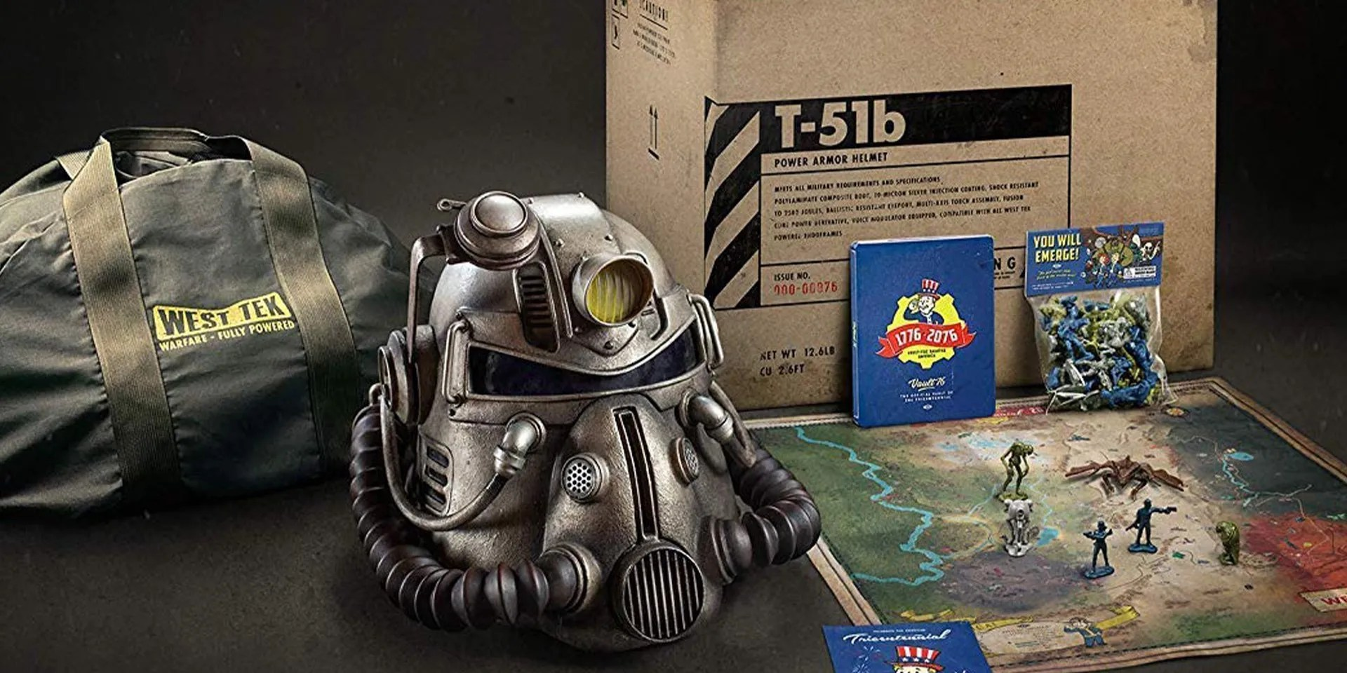 Fallout 76 CE Owners Getting Replacement Canvas Bags Amid Backlash