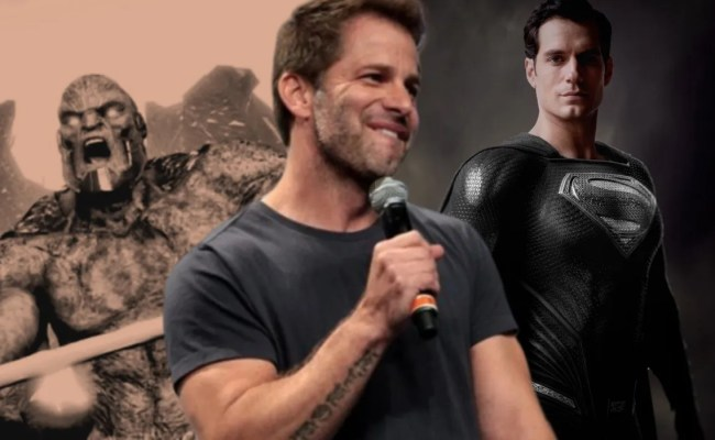 Everything Zack Snyder Revealed About His Justice League