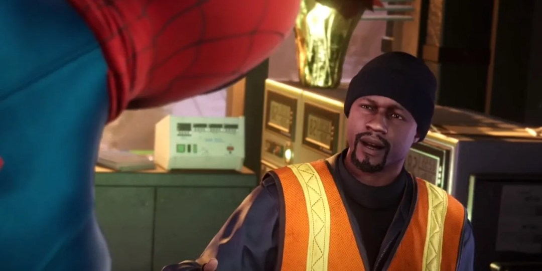 Image result for PS5 Miles morales uncle aaron