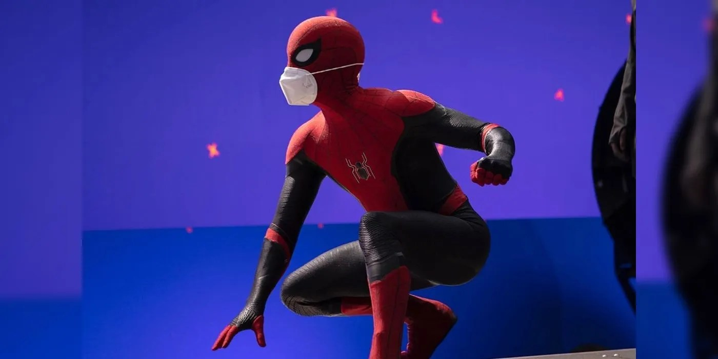 Spider-Man 3 First Image Reveals Tom Holland In Far From Home Costume