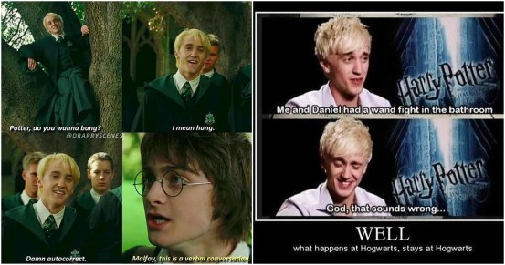 Harry Potter: The best Harry / Draco memorial ships