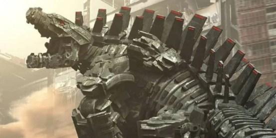 Mechagodzilla Concept Art shows a detailed look at GVK's villain