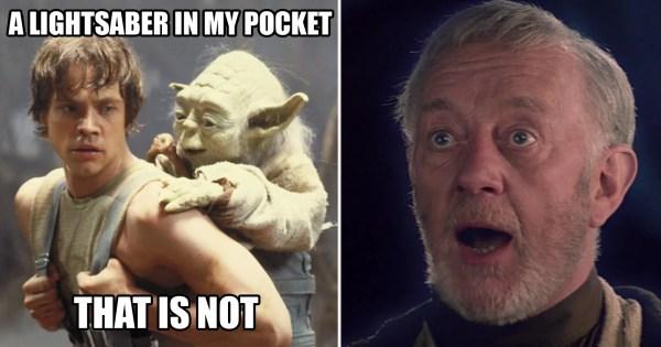LEGO Star Wars Yoda Meme