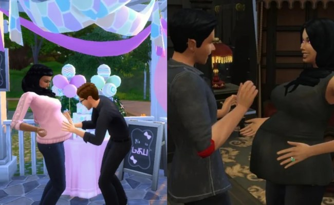 The Sims 4 Best Pregnancy Mods Thegamer