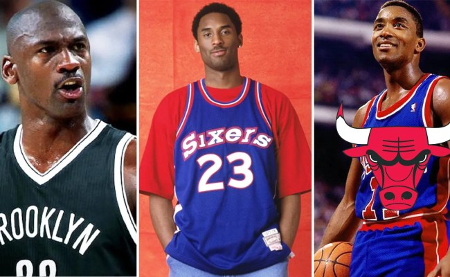Every Nba Team S Starting Lineup If Legends Played For