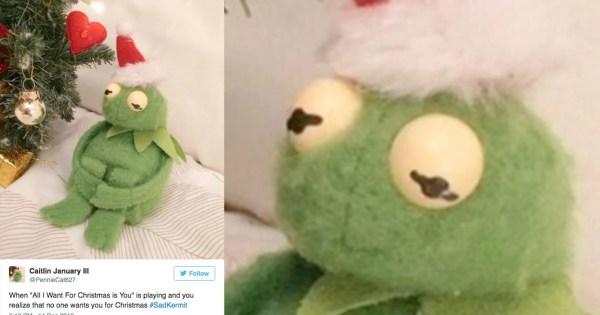 Sad Kermit Meme Generator Imgurl