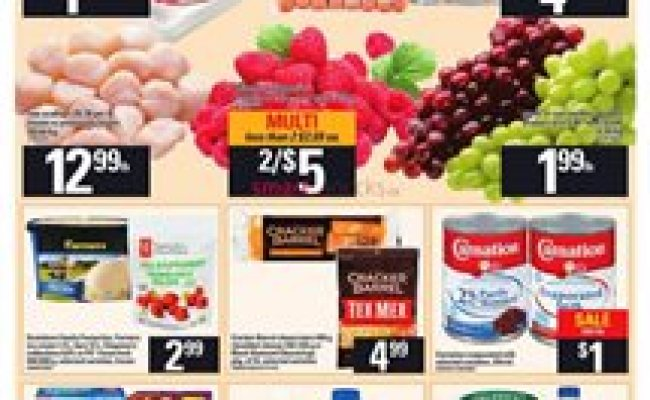 Grocery In Moncton Weekly Flyers And Coupons