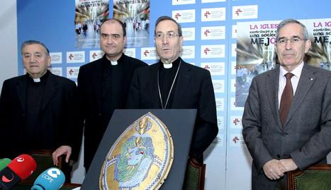 El arzobispo, Francico Pérez en una imagen de archivo. archivo