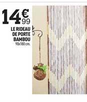 rideau de porte bambou chez centrakor