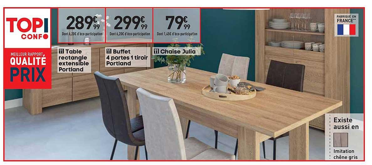 1 tiroir portland chaise julia