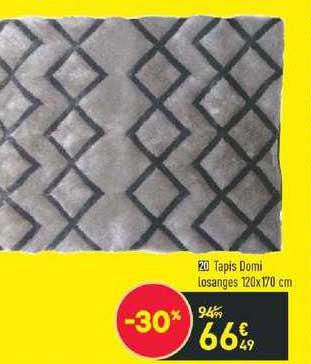 offre tapis domi losange 120 x 170 cm