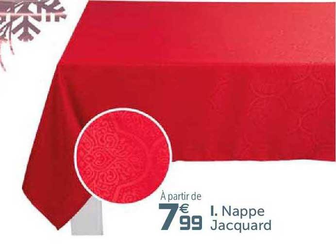 Offre Nappe Jacques Chez Gifi